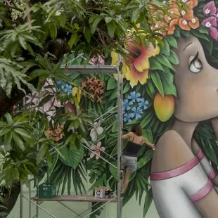 DEUXIEME EDITION DU FESTIVAL D'ART MURAL IPAF EN MARTINIQUE