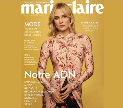Marie-Claire Belgium parle de nous !